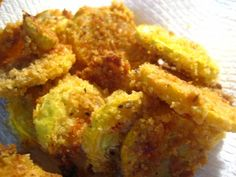 Oven baked fried squash/zucchini