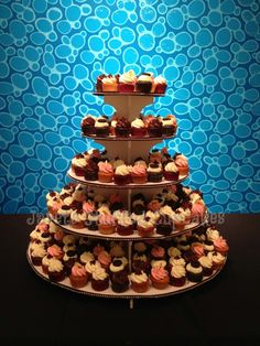 Beautiful Cupcake Tier for Neiman Marcus!