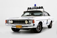 1976 Chrysler VK Valiant Charger XL - New South Wales Police - Australie