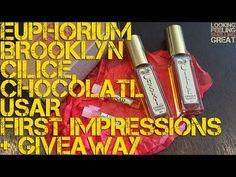 Euphorium Brooklyn Cilice, Chocolatl & Usar First Impressions With Speci...