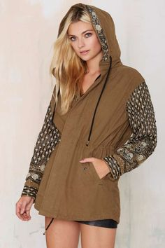 Maison Scotch All Glam Beaded Anorak - Jackets + Coats | Top Gifts