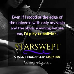 A little snippet from STARSWEPT... coming August 29 from @snowywingspub! ✨🎻🌌🎼  #teasertuesday #swp #authorsofig #writersofig #writergram #instabook #bookstagram #bookquotes