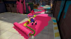 The dev interview with ign indicated that Splatoon was a game for full retail release, early in the first quarter of 2015.
