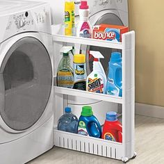 Finally a good use for that awkward extra space in the laundry area that does nothing except collect lint...