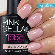 #105 Pink Gellac Blush Orange