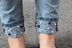 Jeans customizado 1: