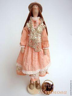 Купить Кукла тильда Аннушка - кукла ручной работы, кукла Тильда, куклы и игрушки