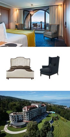 Get the look of a luxury resort in Evian, France Find Furniture, Luxury Furniture, Outdoor Sofa, Outdoor Furniture, Outdoor Decor, High End Furniture Stores, Avenue Design, Interior Design Services, Get The Look