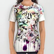 Interpretation of a dream - Tiger All Over Print Shirt