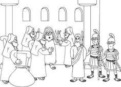 Pasión, muerte y resurrección de JesúsDibujos para colorear la Pasión, Muerte y Resurrección de Jesús. Todas las escenas desde la entrada en jerusalén hasta la ascensión a los cielos. - Profesorado de Religión