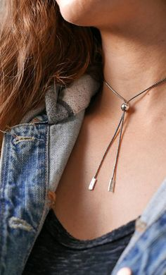 Choker Choker Necklace Silver Necklace Oxidized Silver
