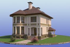 House Outside Design, 2 Storey House Design, Diy Room Divider, Fantasy House, Gazebo, House Plans, Sweet Home, New Homes, Facade
