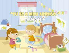 Versinho pras crianças decorarem <3 Salmo 32:7