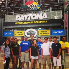 Thanks to Daytona International Speedway for another great experience for our students!!