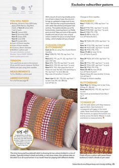 Simply Knitting May 2017 - 轻描淡写 - 轻描淡写 Pattern Weights, Baby Room, Rooster, Throw Pillows, Blanket, Cool Stuff, Crochet, Toss Pillows, Room Baby