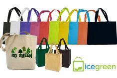 IceGreen is a leading international manufacturer of reusable bags. We're a Canadian owned and operated company. Coming from a land famous for its rich, natural resources, we understand the value of preserving the environment. We're spreading that message globally by sending our reusable bags around the world.