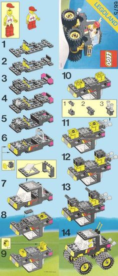 106 Best Lego Images On Pinterest Lego Instructions Lego And Legos