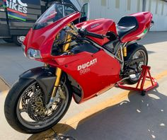 2004 Ducati 998S Final Edition – Iconic Motorbike Auctions Ducati 998, Ducati Superbike, Ducati Motor, Motorbikes, Cars Motorcycles, Icon Design, Finals, Two By Two