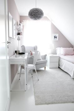Bedroom Design Ideas for Small Rooms You Will Love - 10 Exciting Bedroom Decorating Ideas Diy Home Decor Bedroom, Living Room Interior, Kids Bedroom, Bedroom Ideas, Modern Bedroom, Bedroom Wall, Small Bedroom Inspiration, Master Bedroom, Attic Bedroom Designs