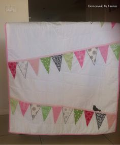 Baby bunting quilt tutorial (it is an applique - I would do it as ... : quilted baby bunting - Adamdwight.com