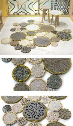 #marble #rug CARPET by Budri   #design Patricia Urquiola