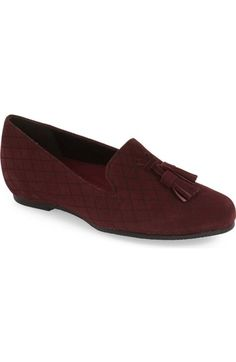 Munro 'Tallie' Tassel Loafer Flat (Women) available at #Nordstrom