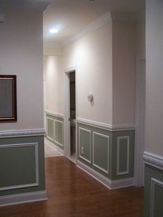 Purchase your Interior Through Wainscoting Ideas : Painted Wainscoting