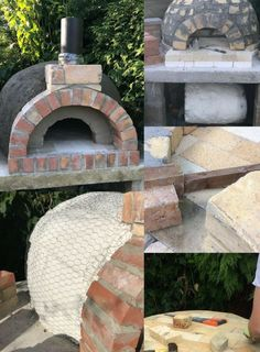 How to build an Italian wood fired pizza/bread oven from start to finish 2017 Brick Oven Pizza, Pizza Oven Outdoor, Wood Fired Pizza, Outdoor Cooking, Fire Pizza, Pizza Pizza, Pizza Ovens, Kitchen Oven, Kitchen Wood