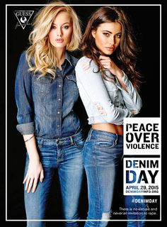 Guess Takes a Stand Against Violence with New Denim Campaign