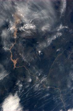 Nigeria.  Taken October 31, 2013.  KN from space.