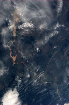 """Nigeria. Taken October 31, 2013. KN from space."" ~Karen Nyberg"