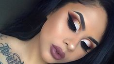 GLITTER CUT CREASE TUTORIAL #cutcreaseeyeshadow
