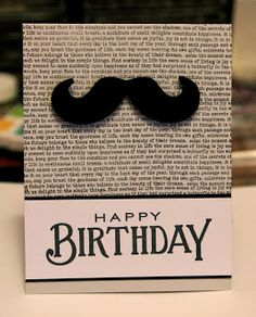 What a fun clean and simple masculine birthday card. Love it!