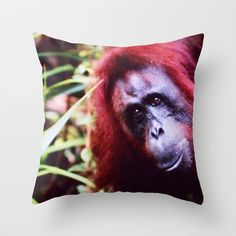 I See You  Throw Pillow by  RokinRonda - $20.00