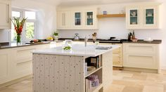 Cream Shaker Kitchen^With Customised Island Gallery
