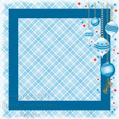 "Layout SP 2.....Stacked Paper, Blue, Digital Scrapbooking, Christmas Time Collection, 12"" x 12"", 300 dpi, PNG File Format"