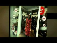 Virtual mirror hits clothes shops