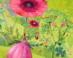 ♥ A square post card with a lovely motive by Mila Marquis  ♥ Partially refined with glimmer  ♥ 14 * 14 cm  ♥ The article can selectively be