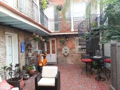 VRBO.com #402365 - French Quarter Retreat - Excellent Location! Private Courtyard