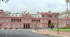 La Casa Rosada in Buenos Aires