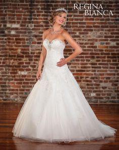 Symphony Regina Bianca Wedding Dresses - Style RB1005 [RB1005] - Symphony Regina Bianca Wedding Dresses, Spring 2015