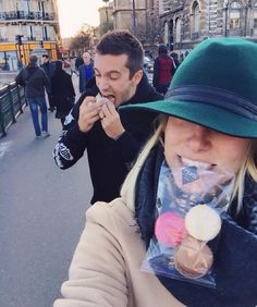 Jenna: C'mon Tyler let's be cute and romantic for once.  Tyler:*Is stuffing his face* What?