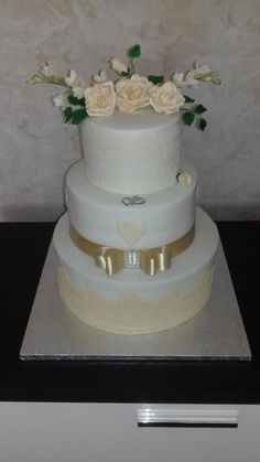 wedding cake - cake by anka