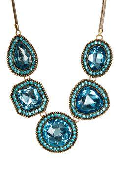 Asymmetrical Garland Necklace