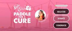 Maui Paddle For A Cure - http://fullofevents.com/hawaii/event/maui-paddle-for-a-cure/