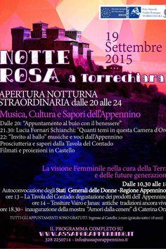 Torrechiara, un week end da leonesse: Stati Generali delle Donne e Notte Rosa in successione