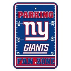New York Giants NY Parking Signs