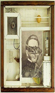 Joseph Cornell - box assemblage