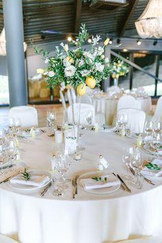 Lemon Party, Floral Backdrop, Mediterranean Home Decor, Tuscan Style, Wedding Table Settings, Tuscany, Bridal Shower, Wedding Decorations, Wedding Inspiration