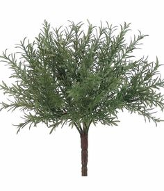 "Artificial Rosemary Greenery Bush in Green<br>7.5"" Wide x 8"" Tall"